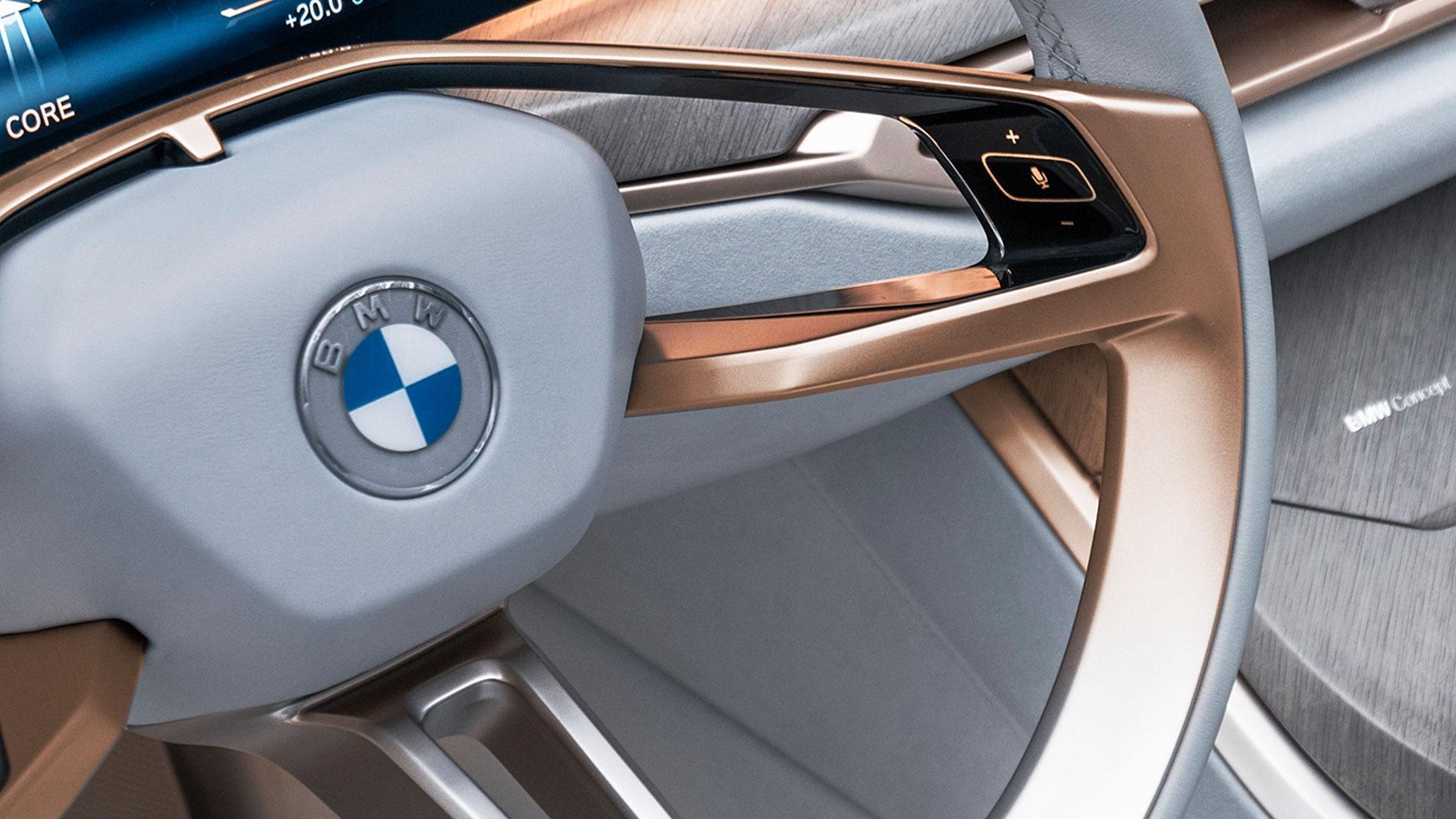 BMW Logo op stuur