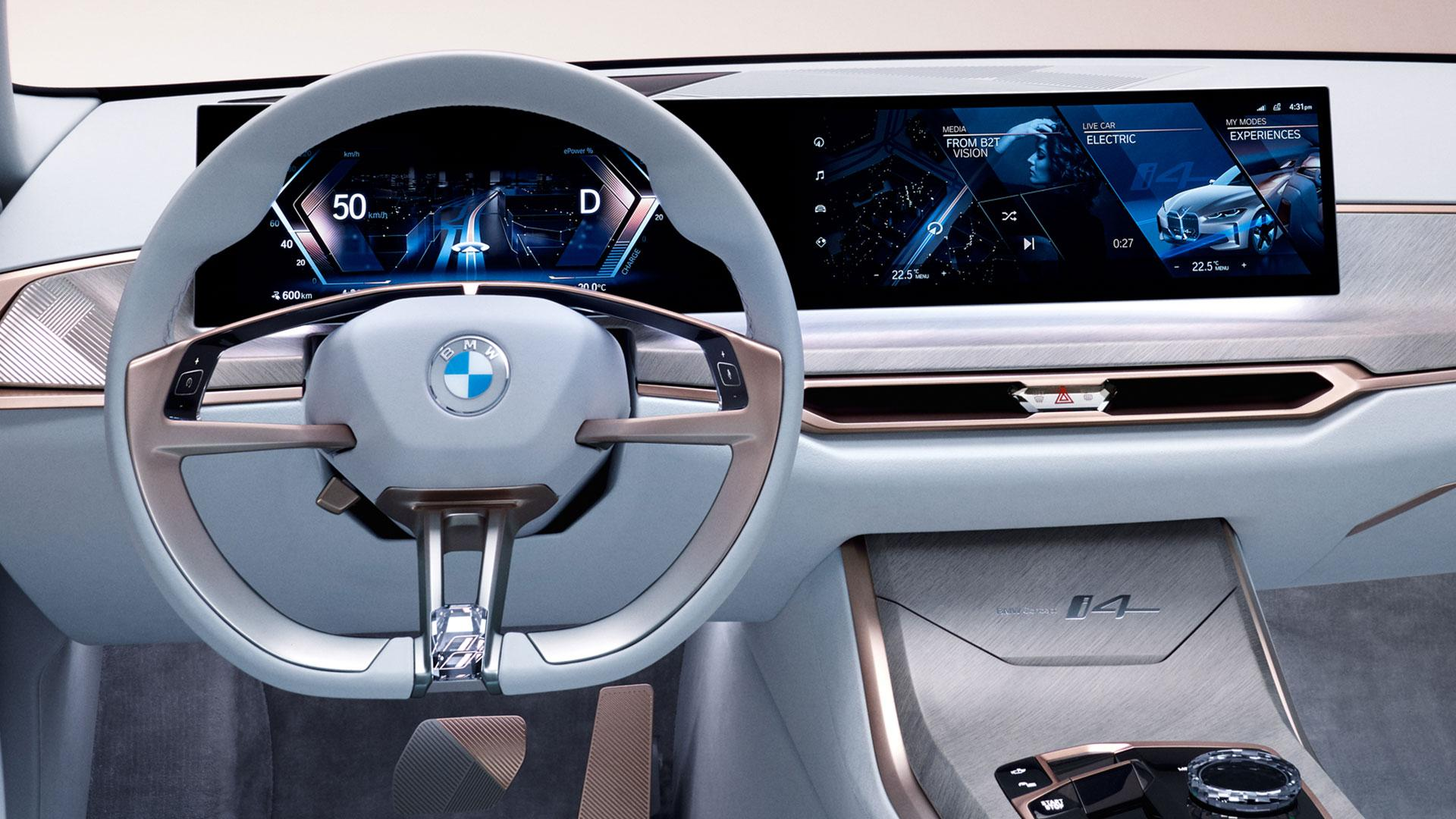 nieuw BMW-logo stuur