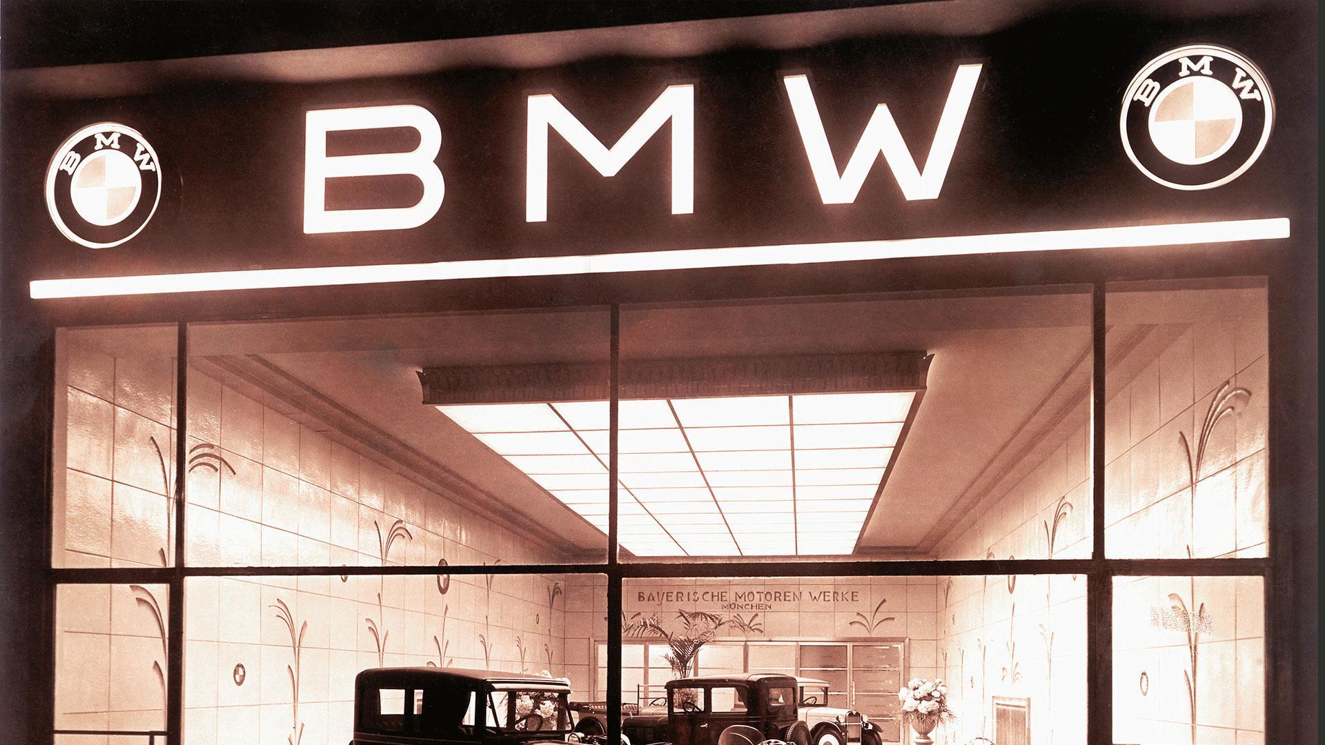 BMW-logo vroeger