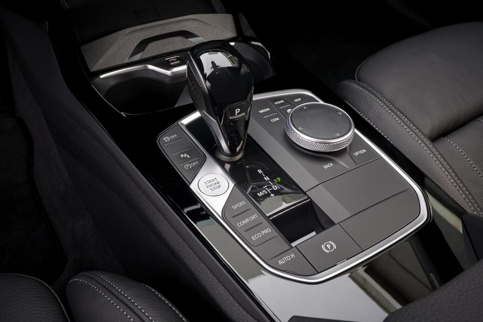 Pook automaat van de BMW M235i xDrive