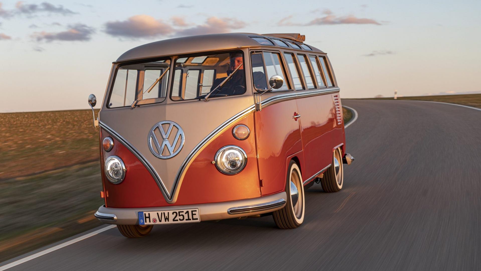 Elektrische VW T1