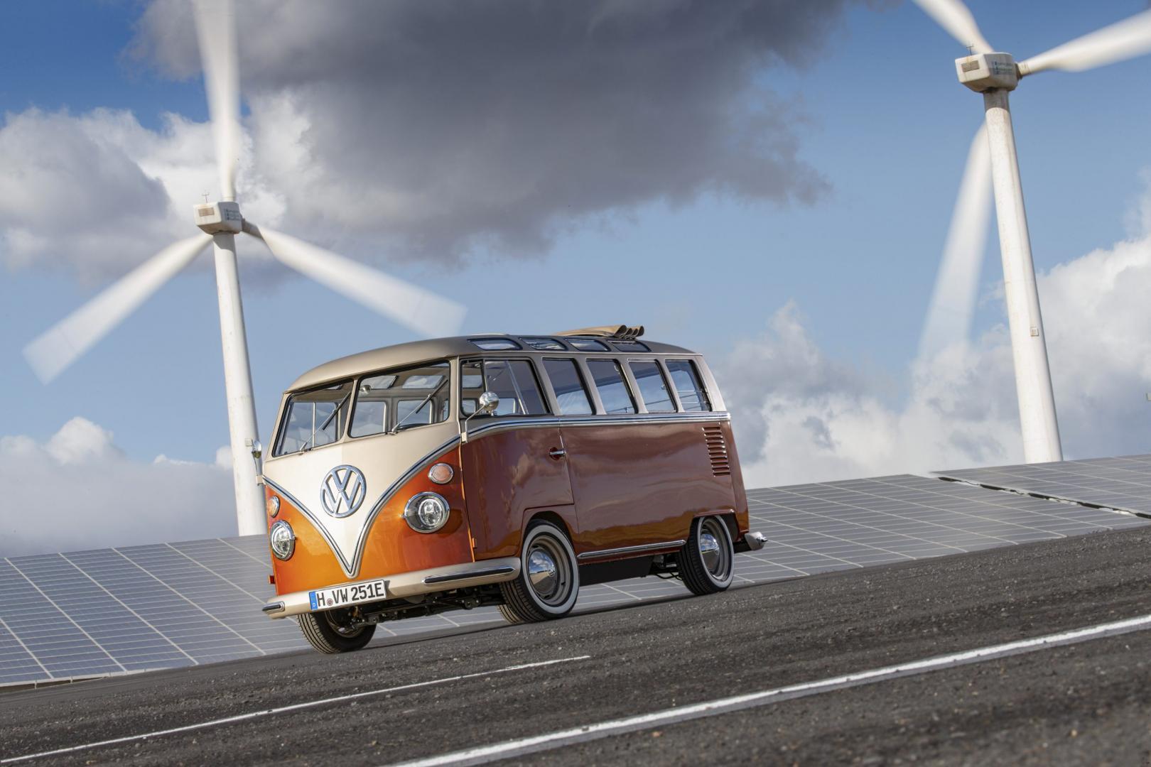 Elektrische Volkswagen T1