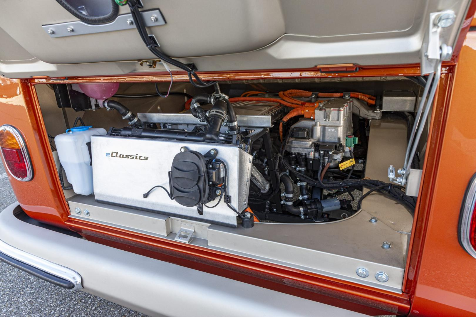 elektromotor in de VW T1
