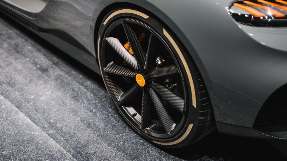 Koenigsegg Gemera koolstofvezel wielen