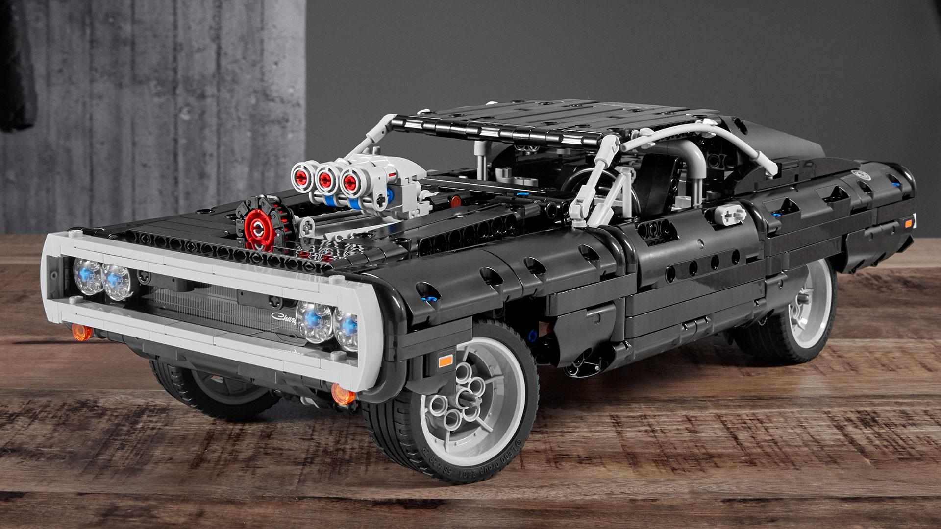 Lego Dodge Charger uit The Fast and the Furious