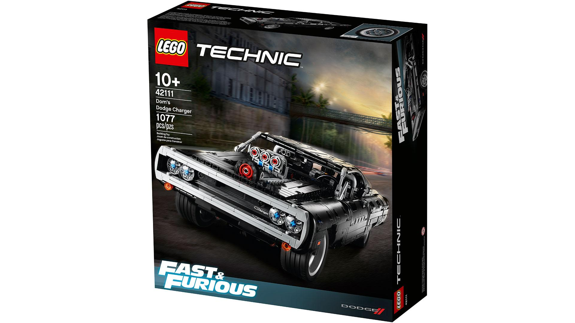 Doos Lego Dodge Charger uit The Fast and the Furious