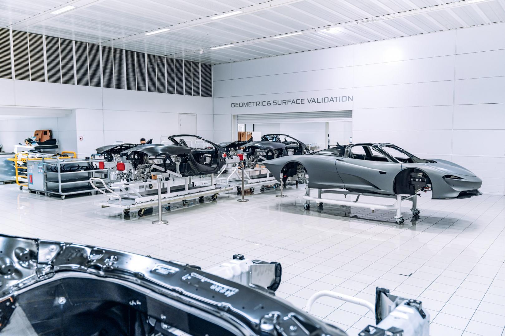 Fabriek McLaren Speedtail