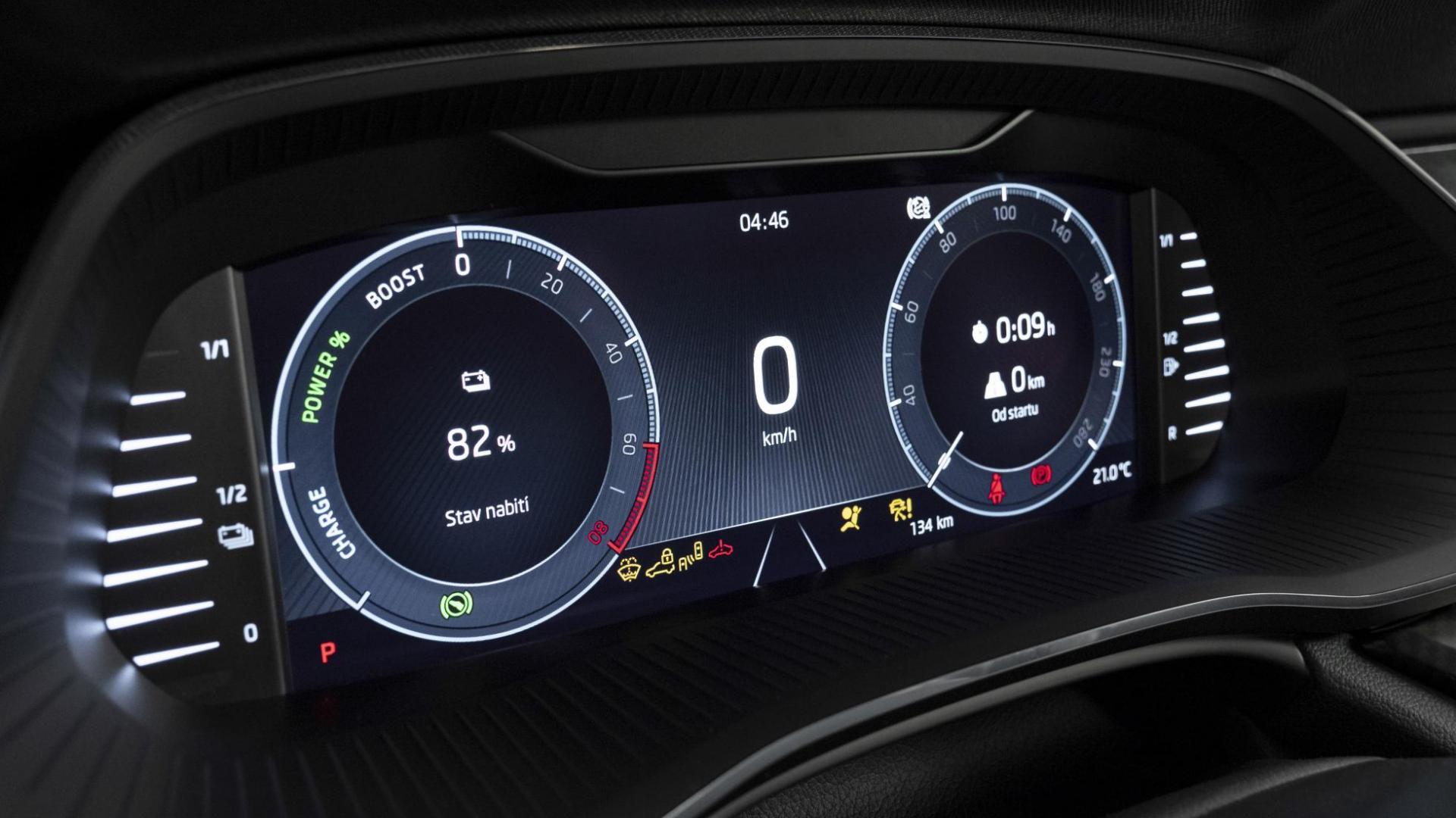 Skoda Octavia RS interieur