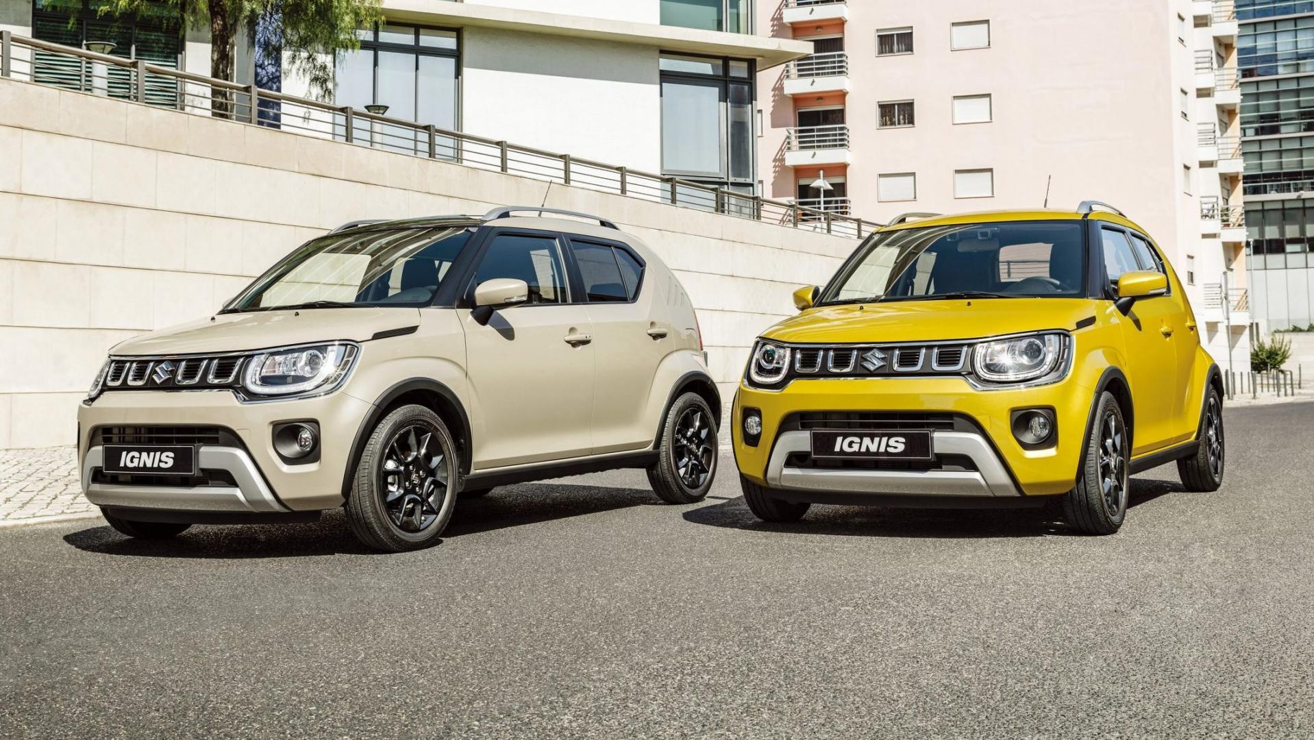 Facelift Suzuki Ignis