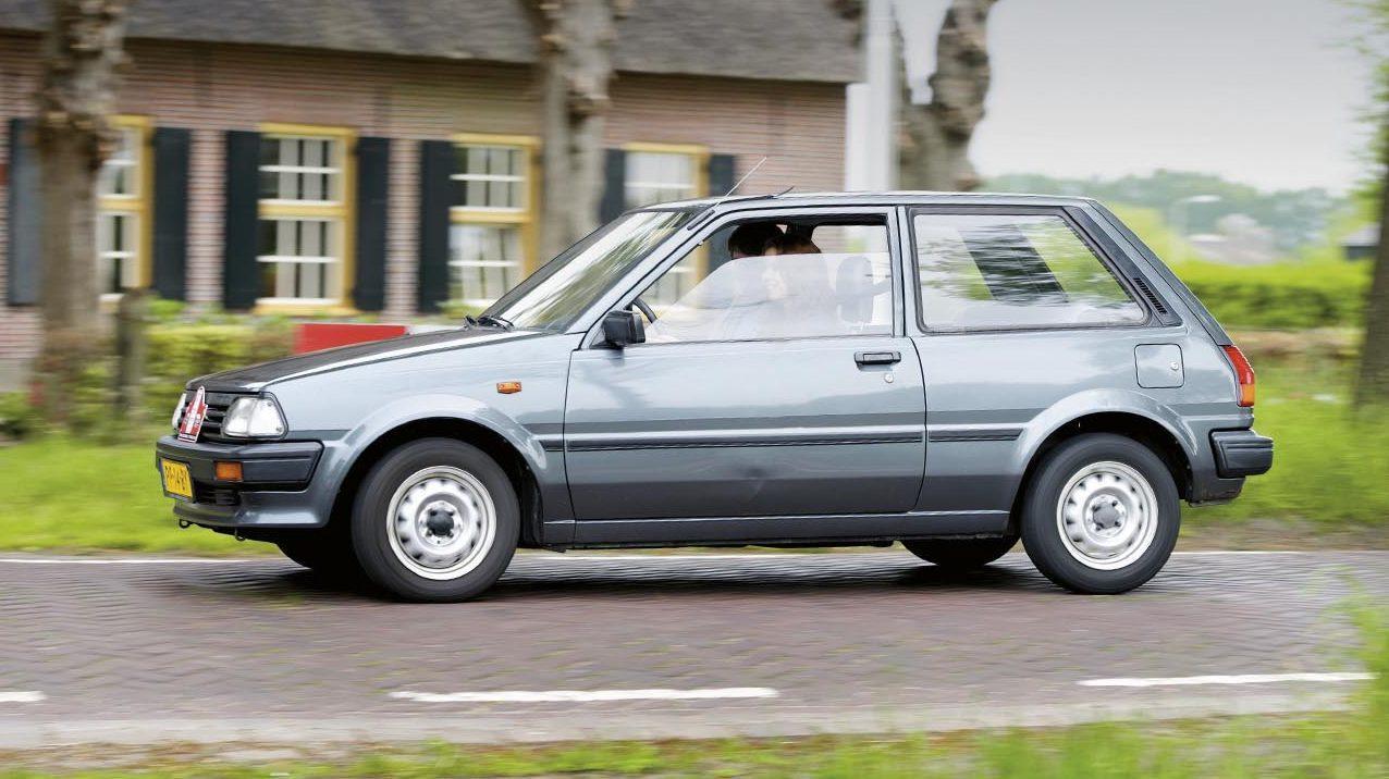 beste auto voor beginners Toyota Starlet