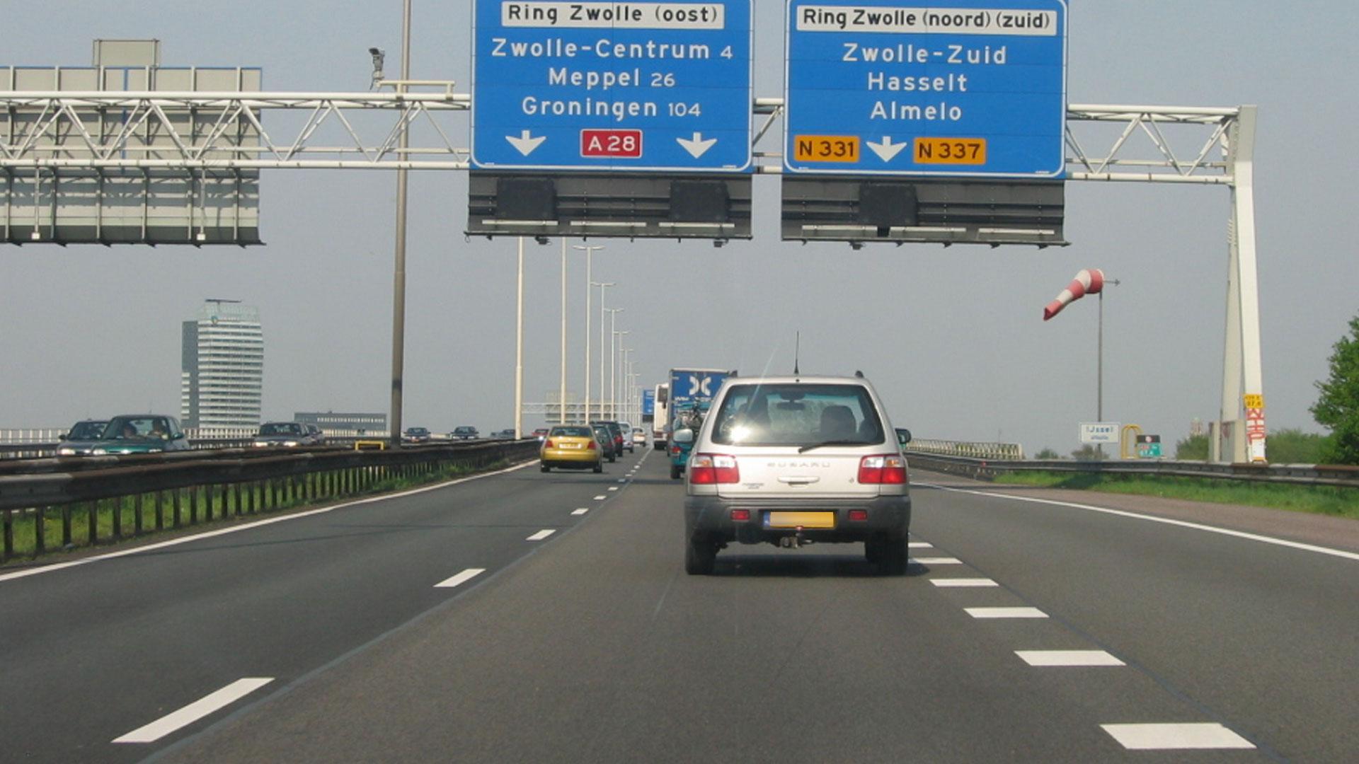 A28 bij Zwolle