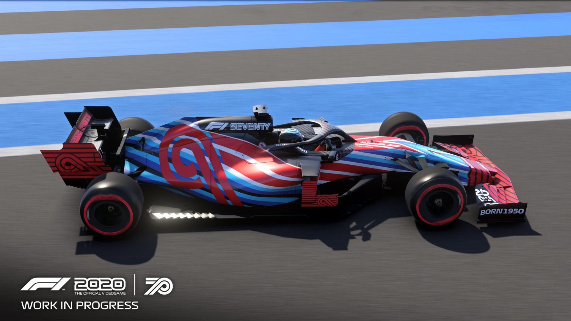 1e indruk F1 2020