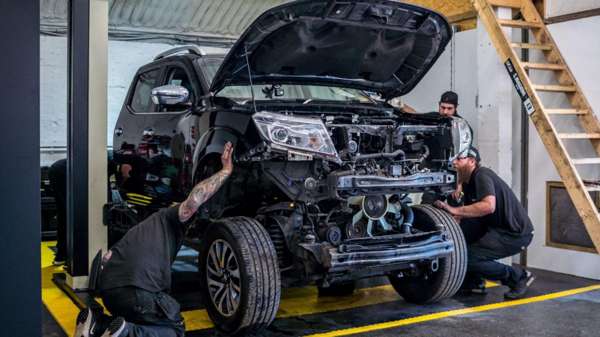 Nissan Navara met GT-R-motor