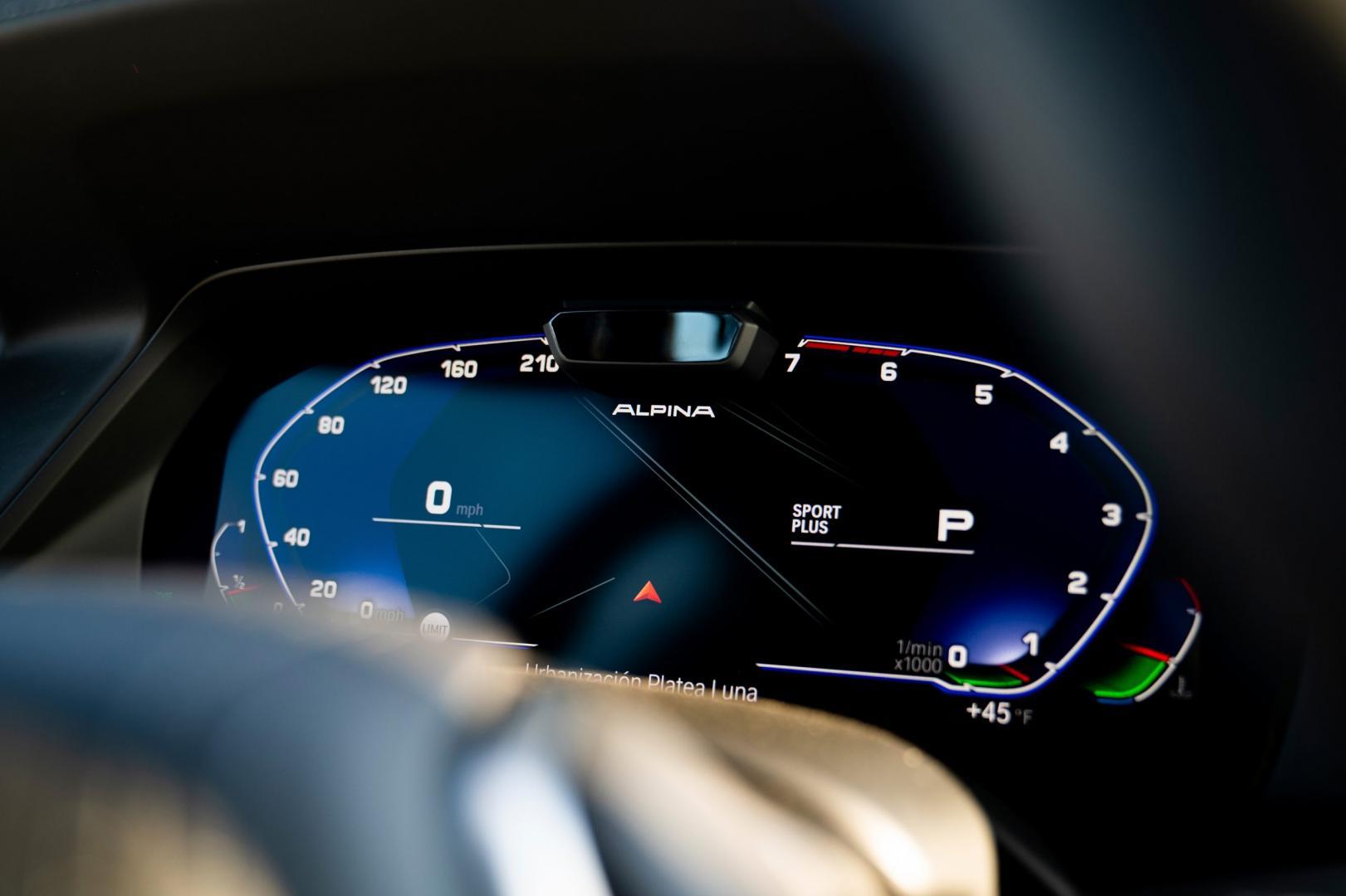 Teller van de Alpina XB7 (BMW X7)