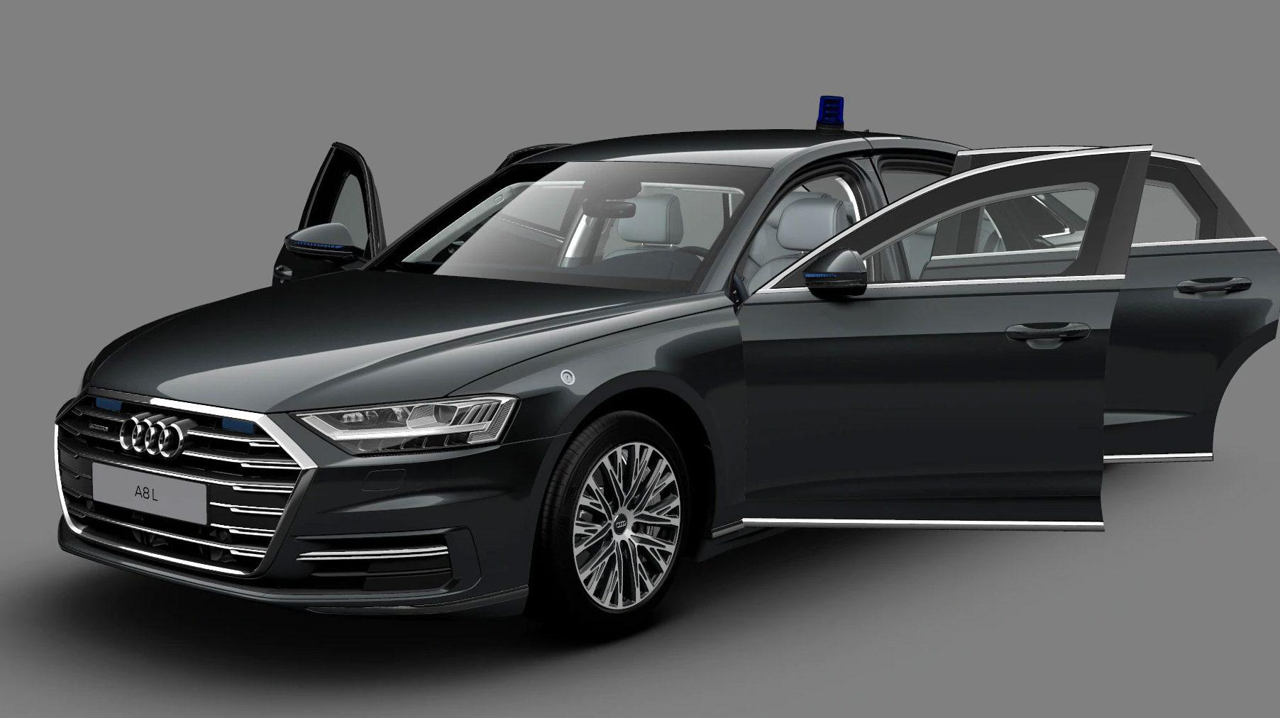Gepantserde Audi A8 L Security