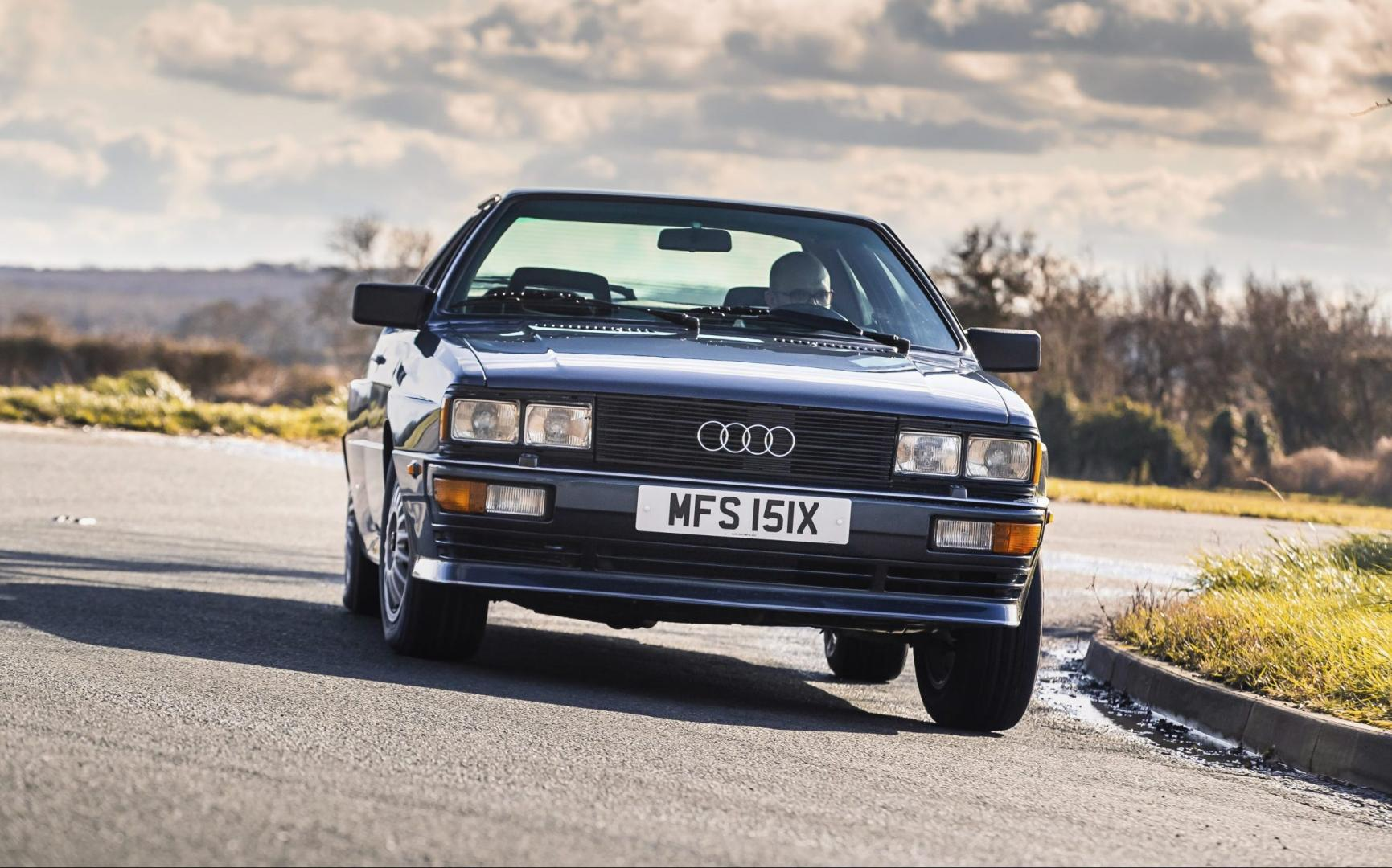 Audi Quattro is 40 jaar