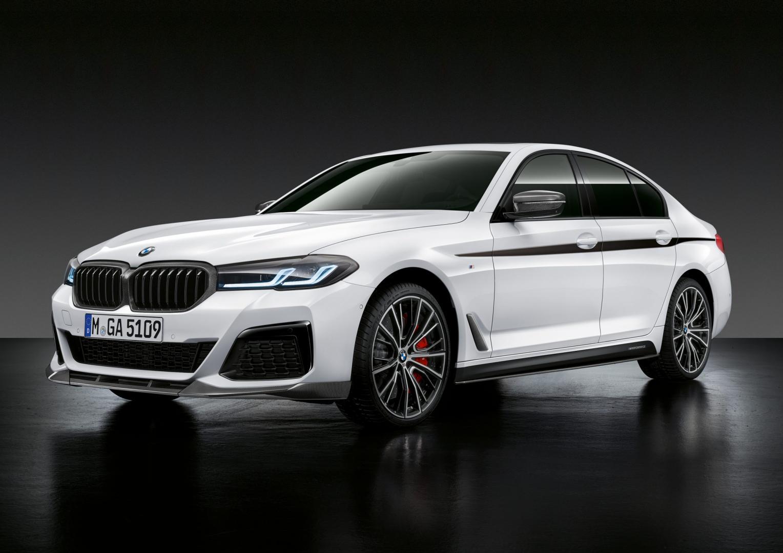 BMW 5-serie facelift met M-Performance accessoires