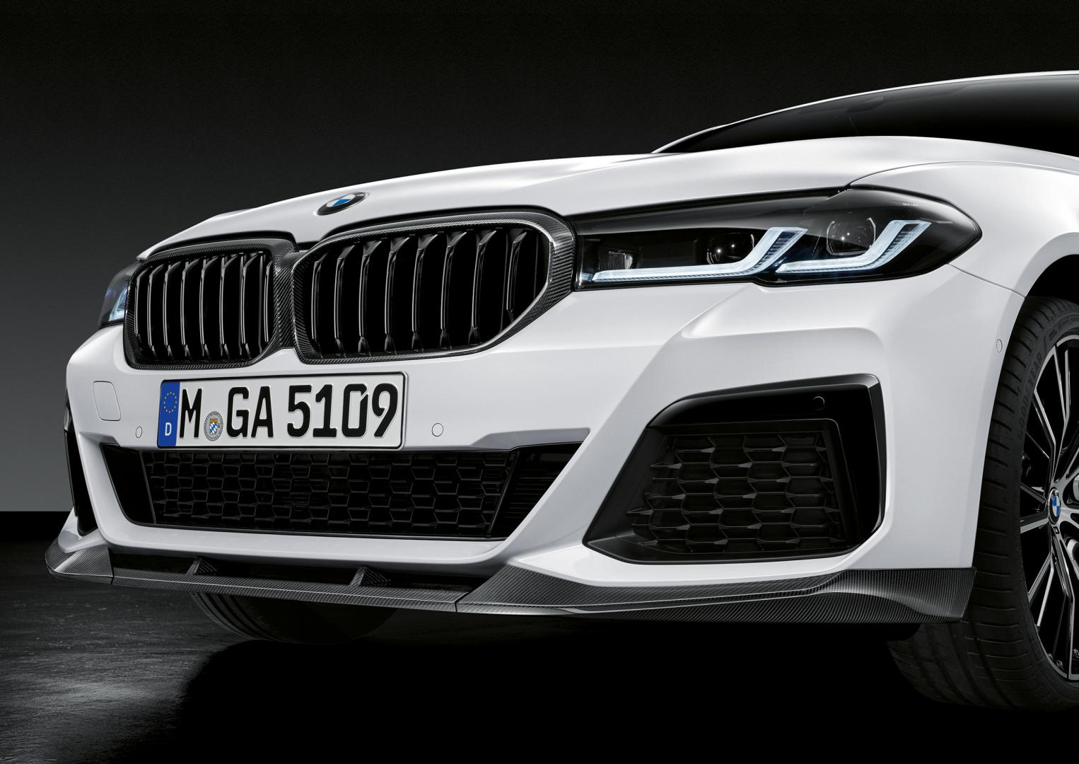 M Performance BMW 5-serie facelift