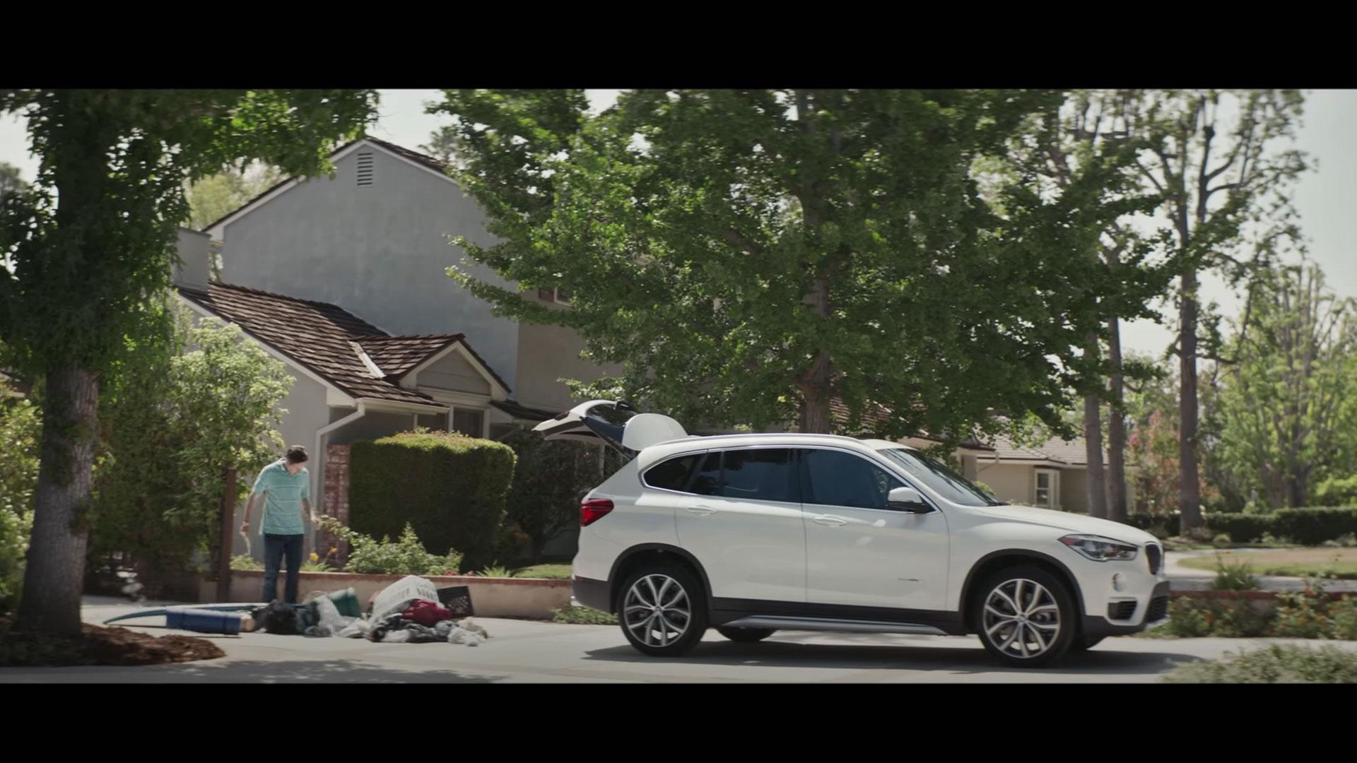 BMW X1 op de oprit