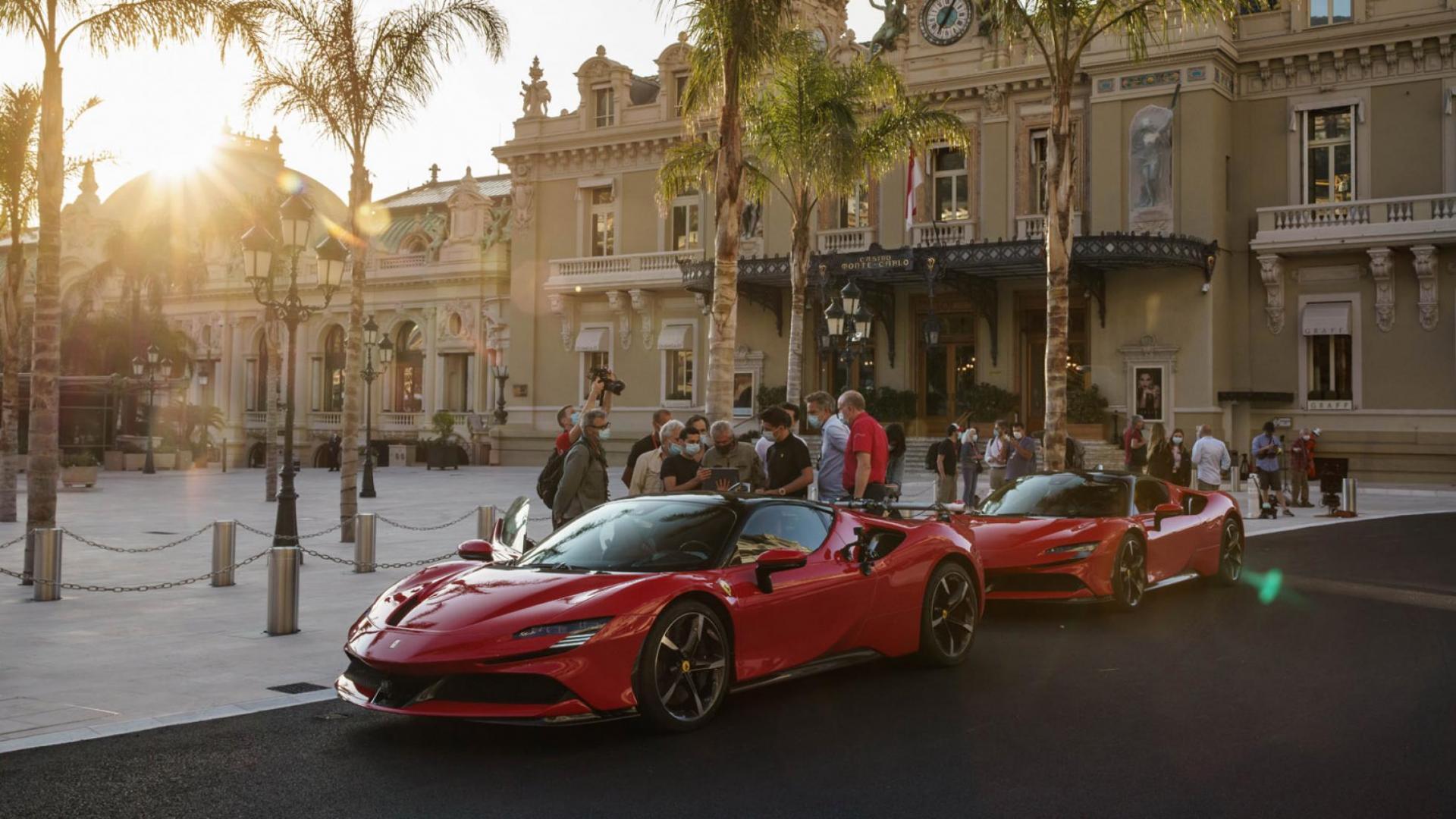 Ferrari SF90 in Monaco