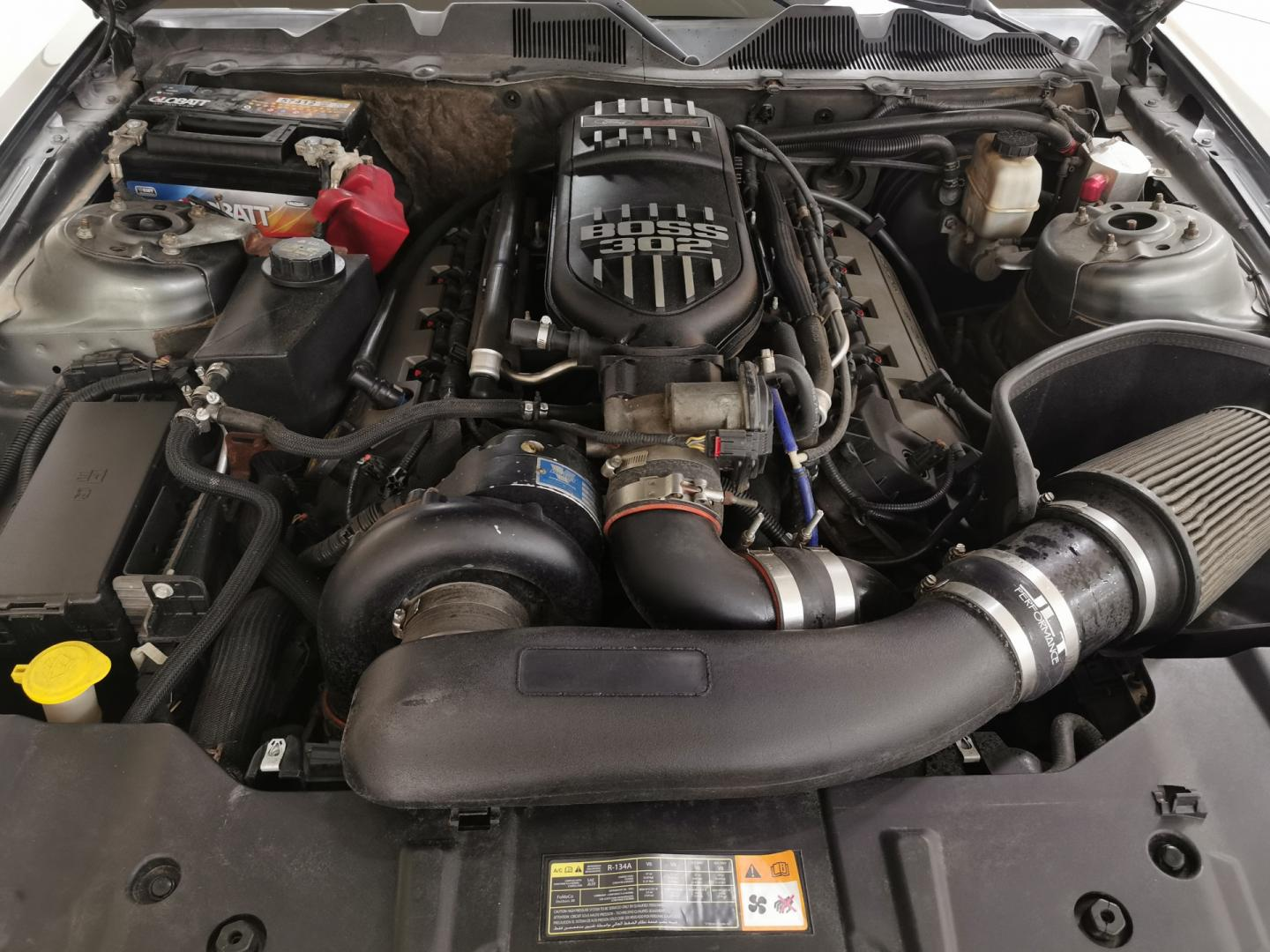 Ford Mustang Supercharger met 850 pk