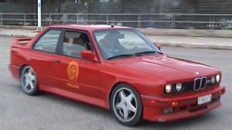 BMW M3 E30 Grieke politie