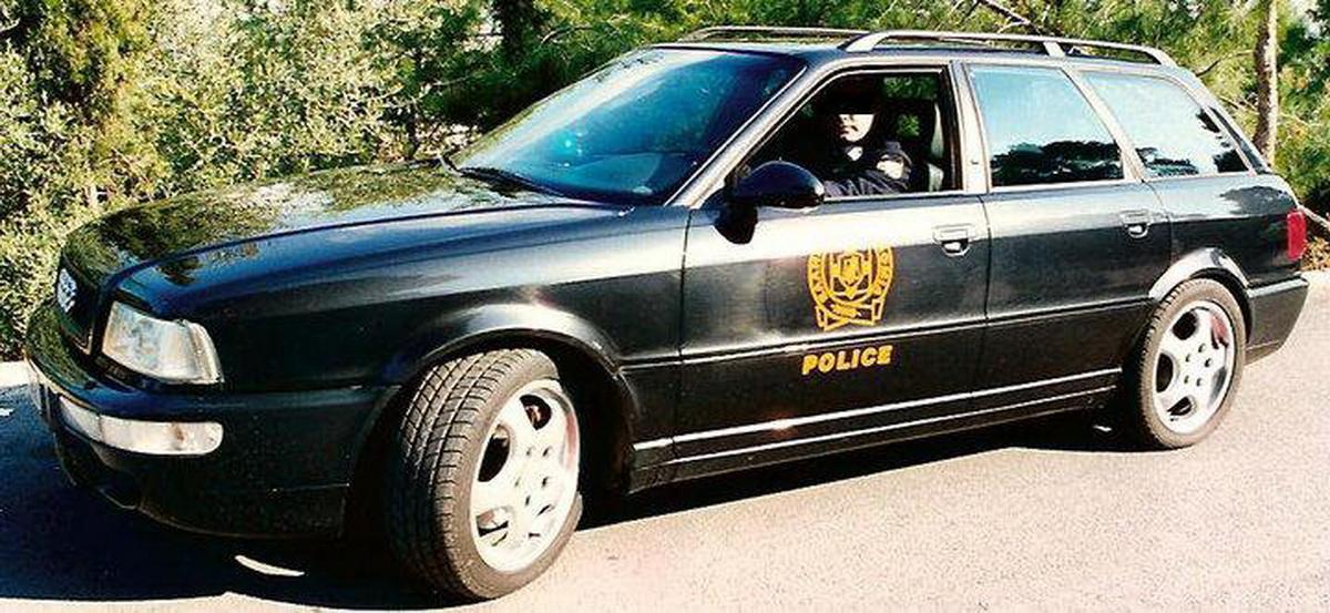 Audi RS 2 Griekse Politie