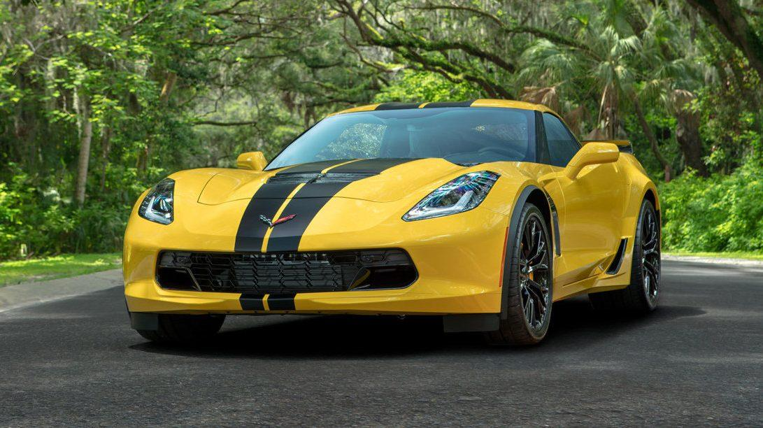 Goedkope Corvette van Hertz