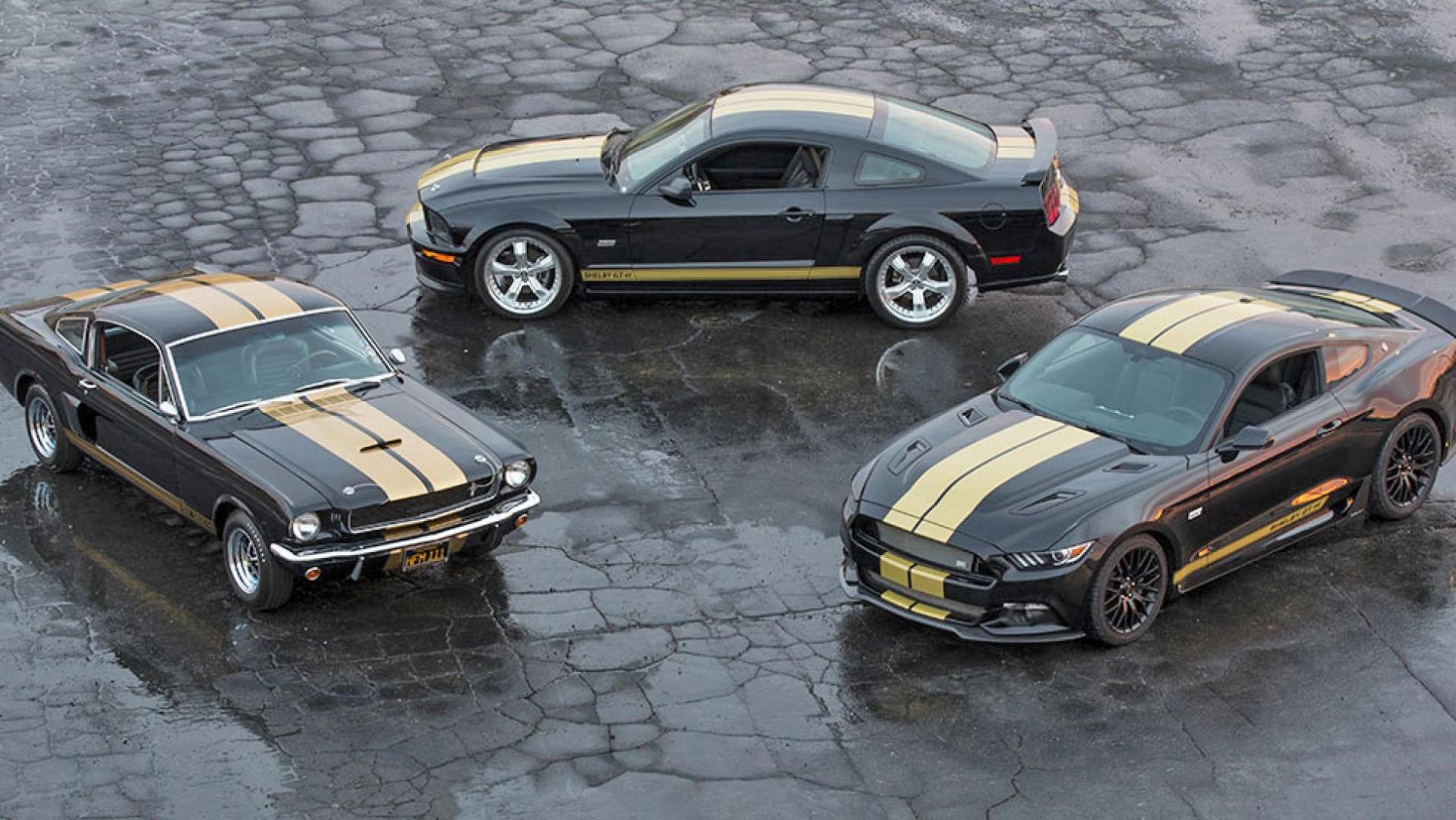 Ford Mustang GT van Hertz