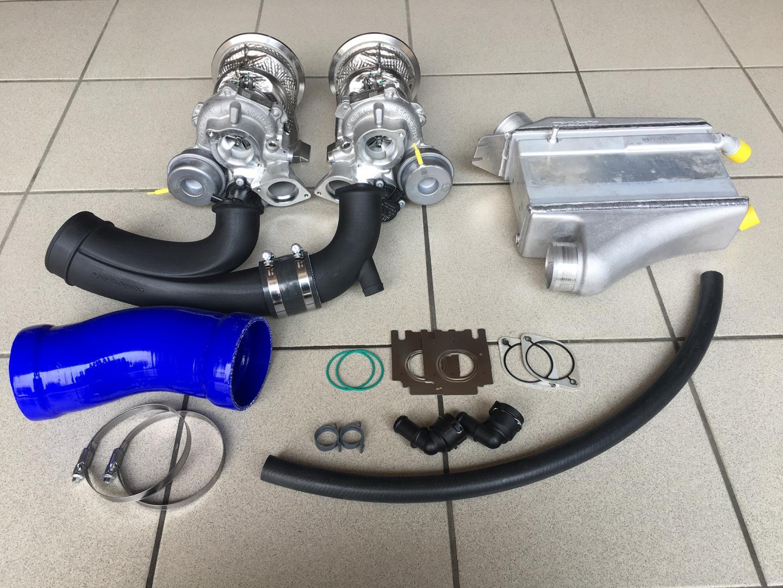 Onderdelen voor de HGP Audi RS 4