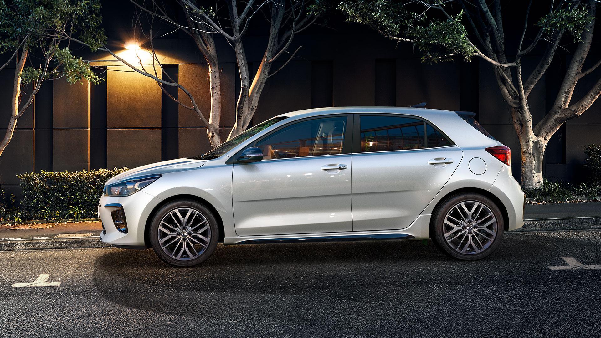 Kia Rio Facelift 2020 wit