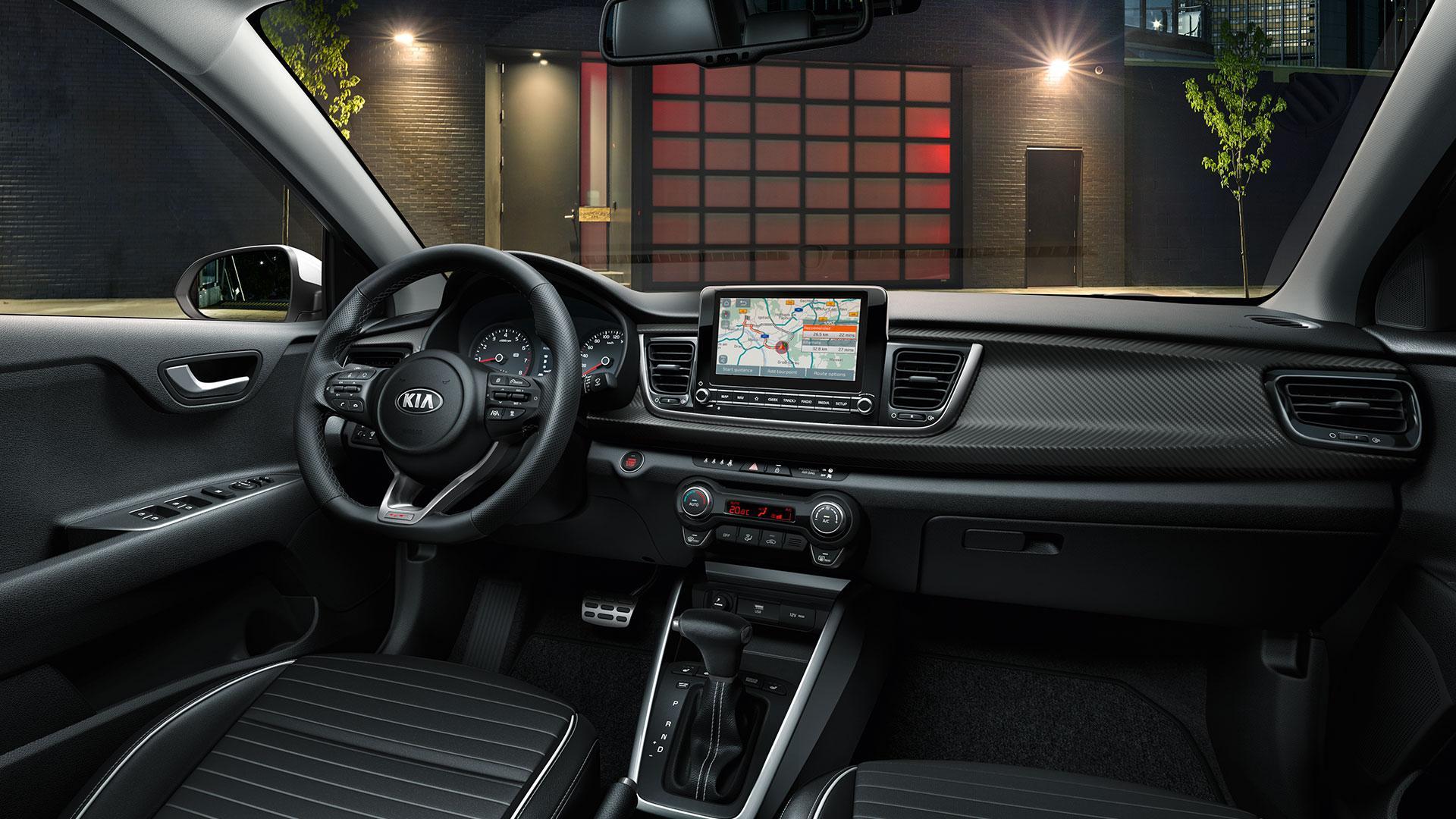 interieur Kia Rio Facelift 2020