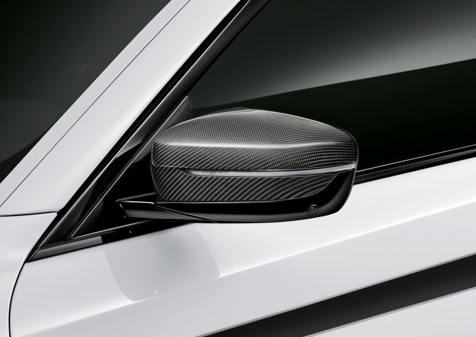 Koolstofvezel spiegelkappen BMW 5-serie
