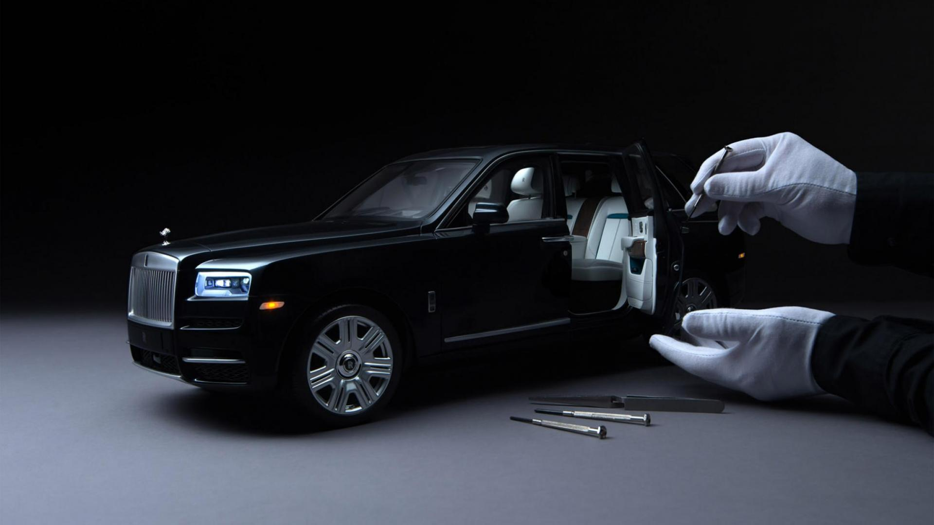 schaalmodel van de Rolls-Royce Cullinan