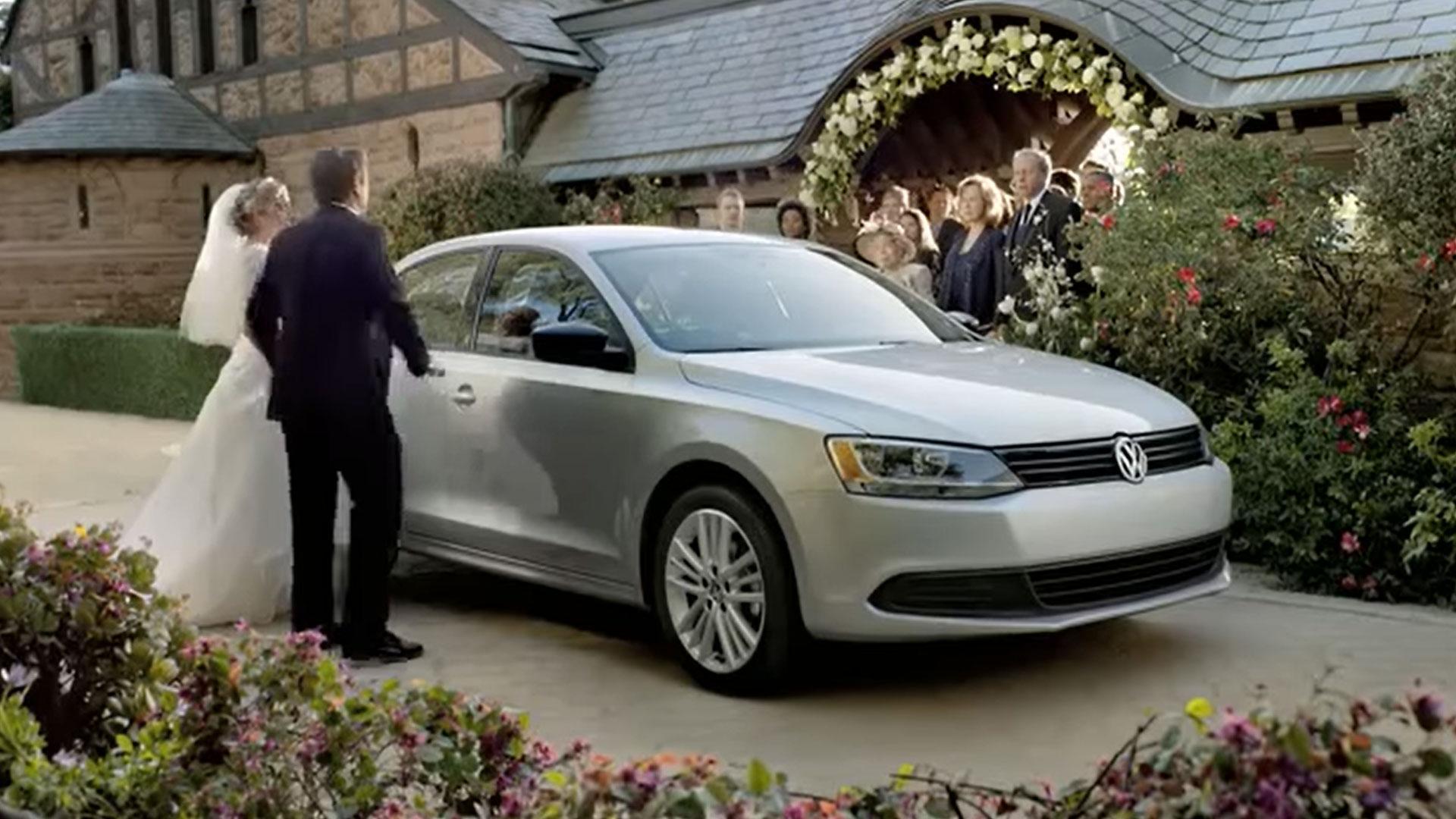 Volkswagen Jetta als trouwauto