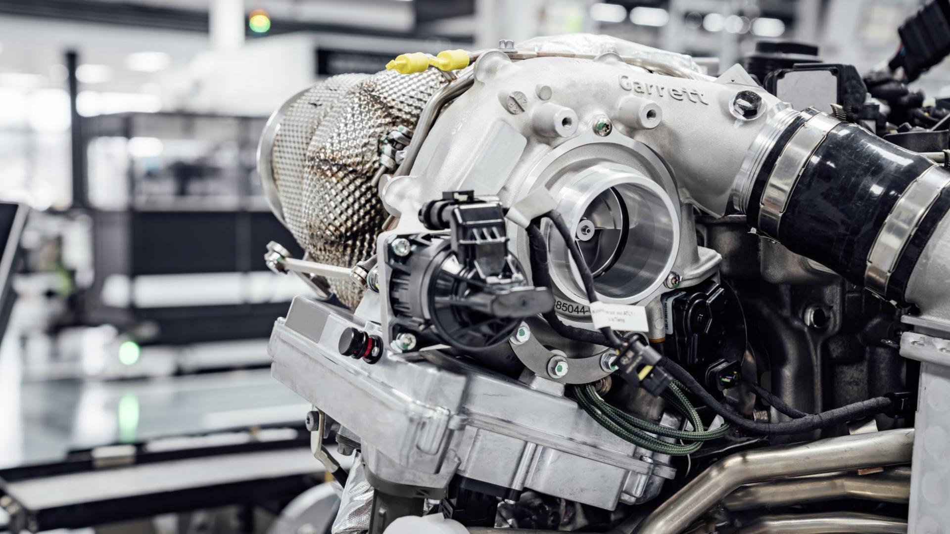 Elektrische turbo van AMG