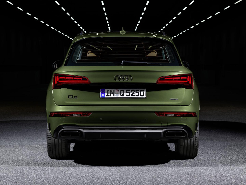 Achterkant Audi Q5-facelift