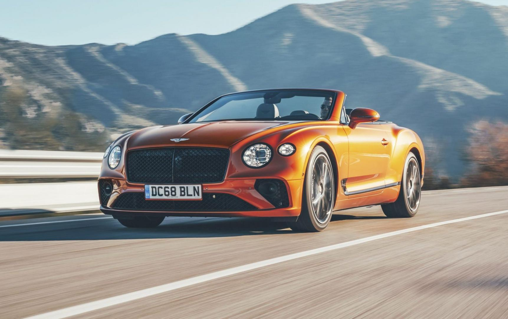Bentley Continental GT V8 Convertible (2020)