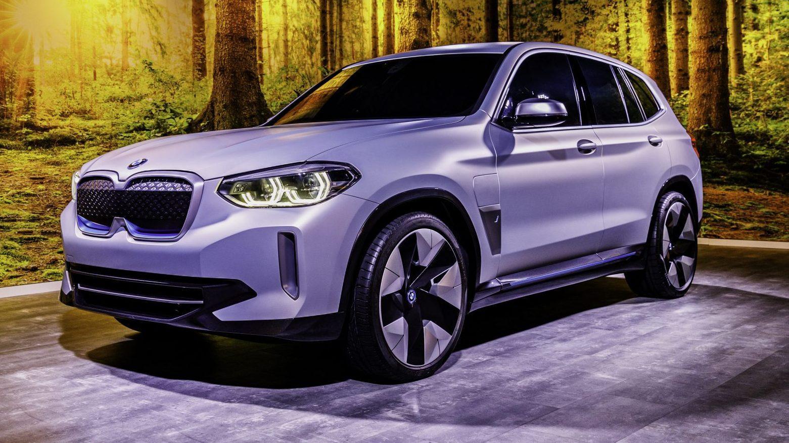 Prijs BMW iX3 Concept 2020