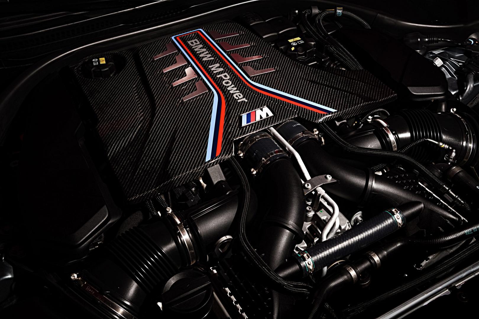 4.4 V8 van de BMW M5 Competition 2020 Facelift (G30)