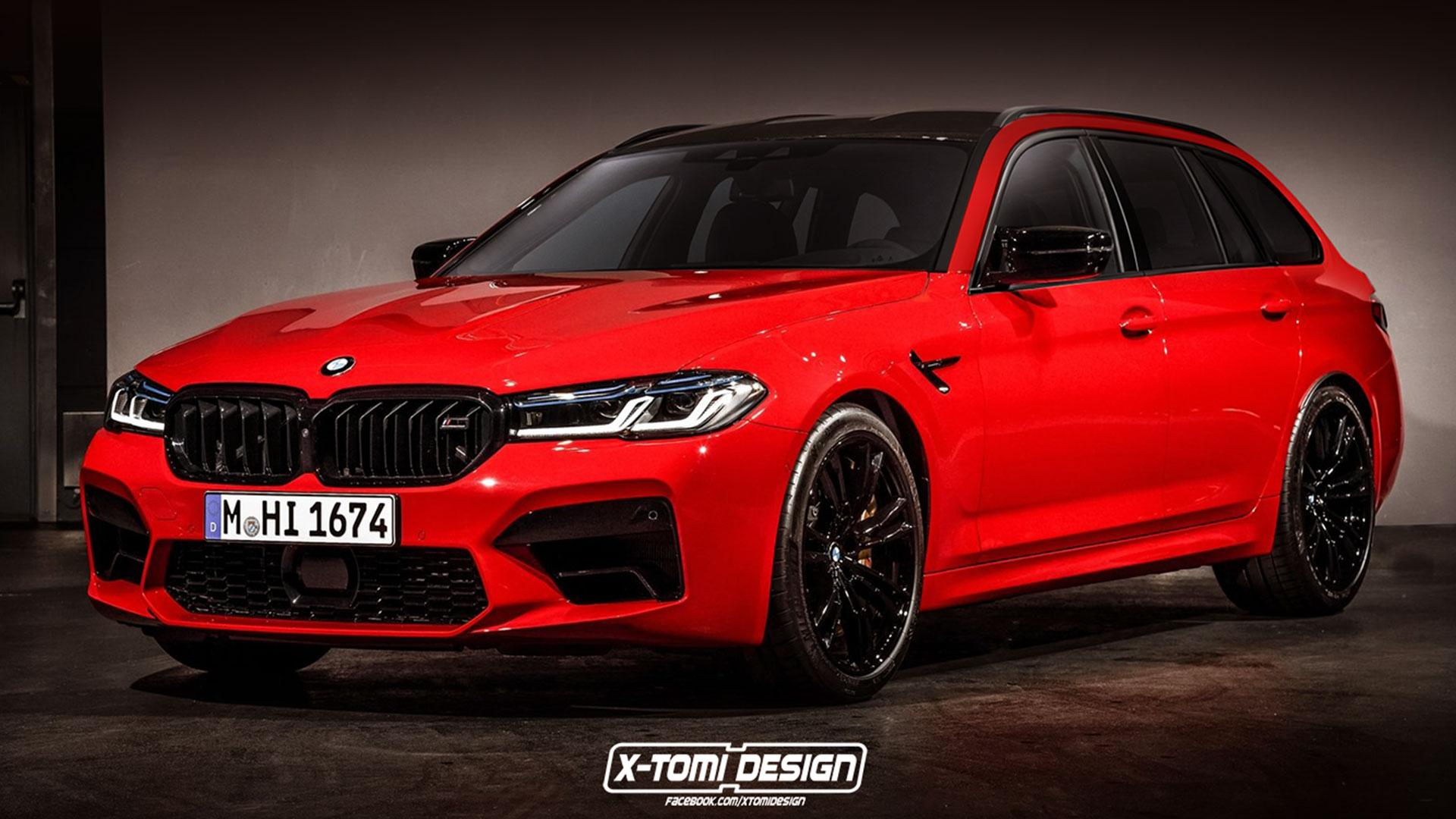 BMW M5 Touring G31 Competition Facelift
