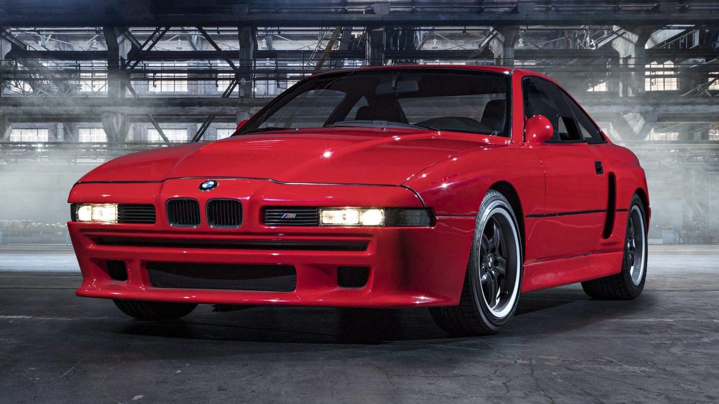 BMW E31 M8 uit jaren negentig