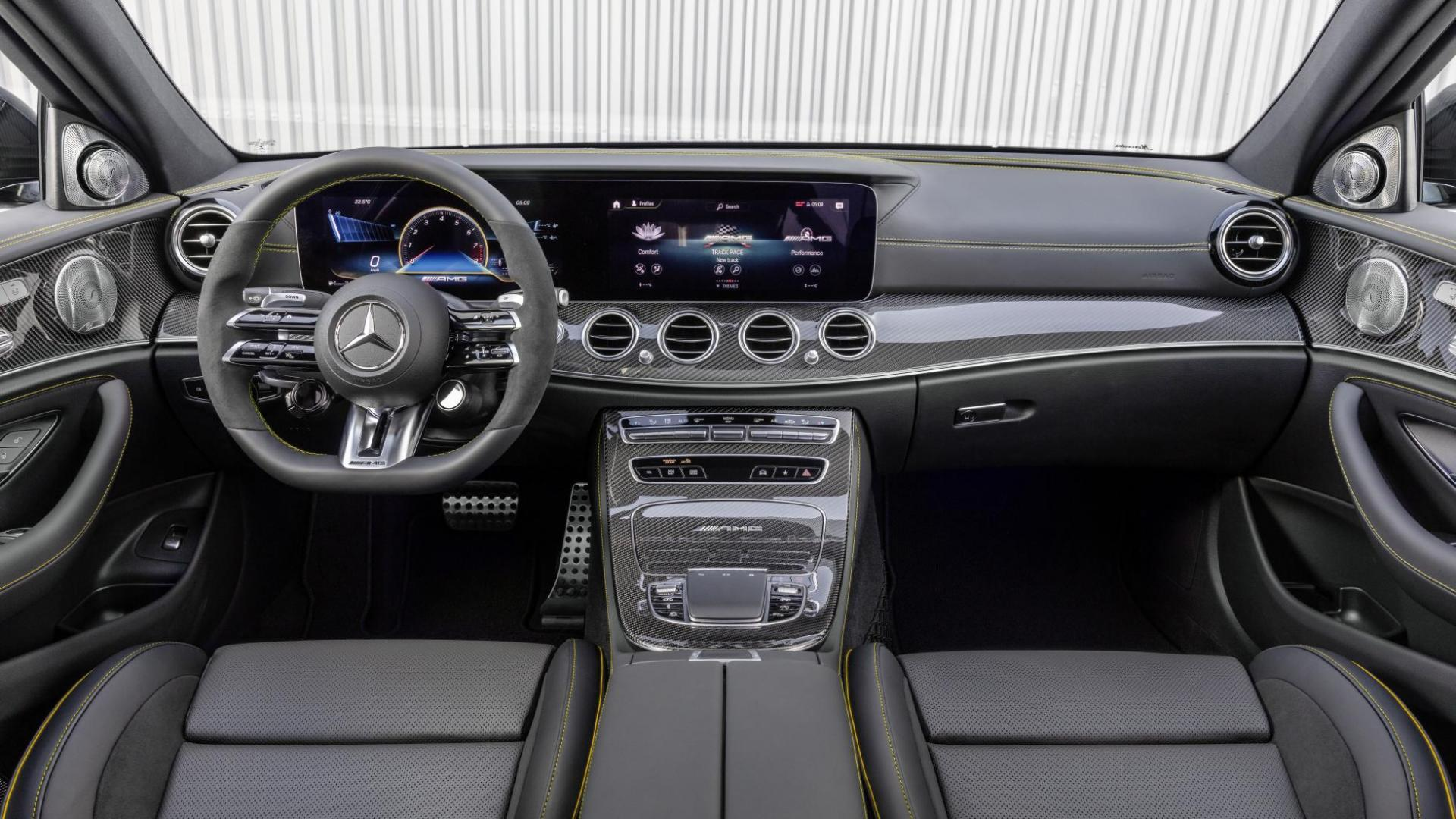 Interieur en dashboard Mercedes-AMG E 63 S Estate Facelift (2020)