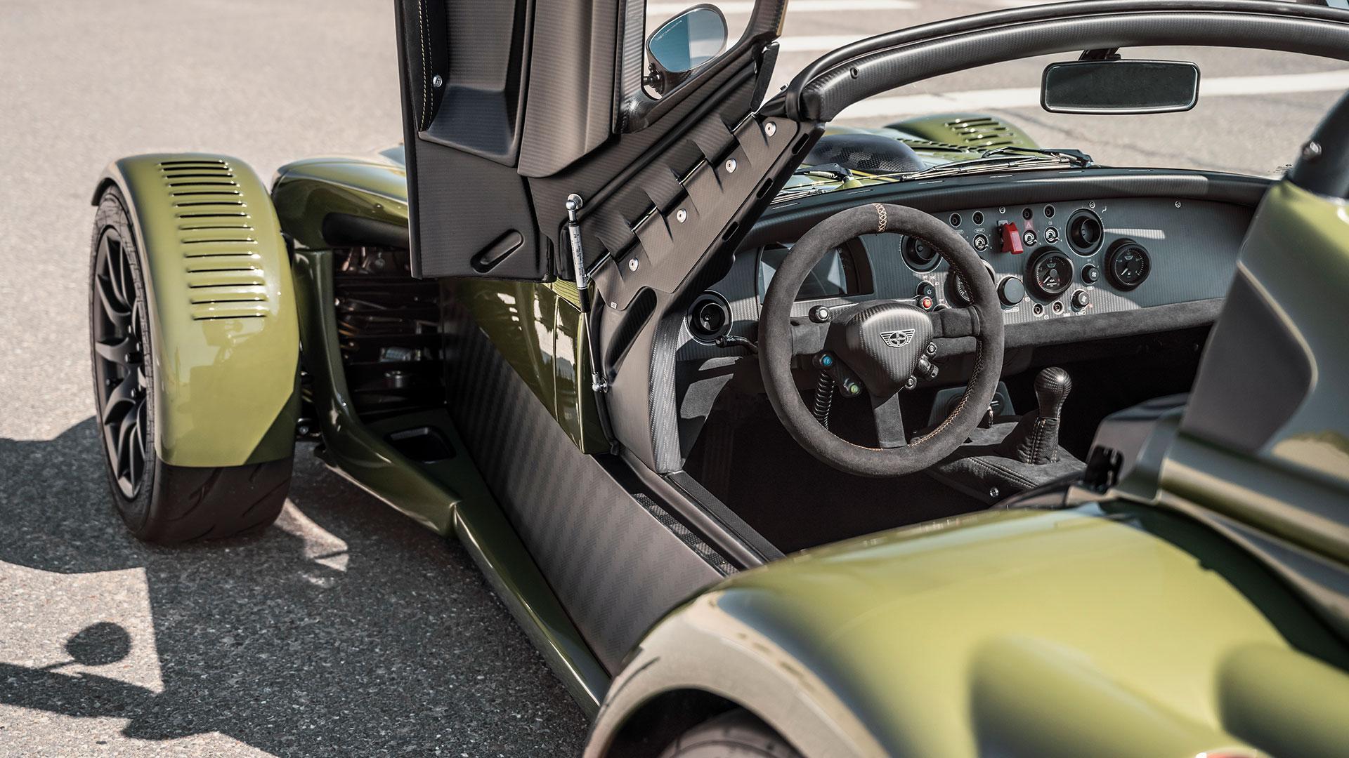 Donkervoort D8 GTO-JD70 stuur