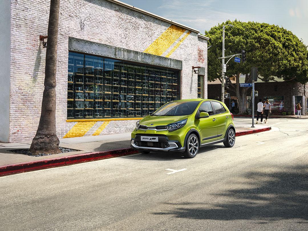 Kia Picanto Facelift 2020 Groen