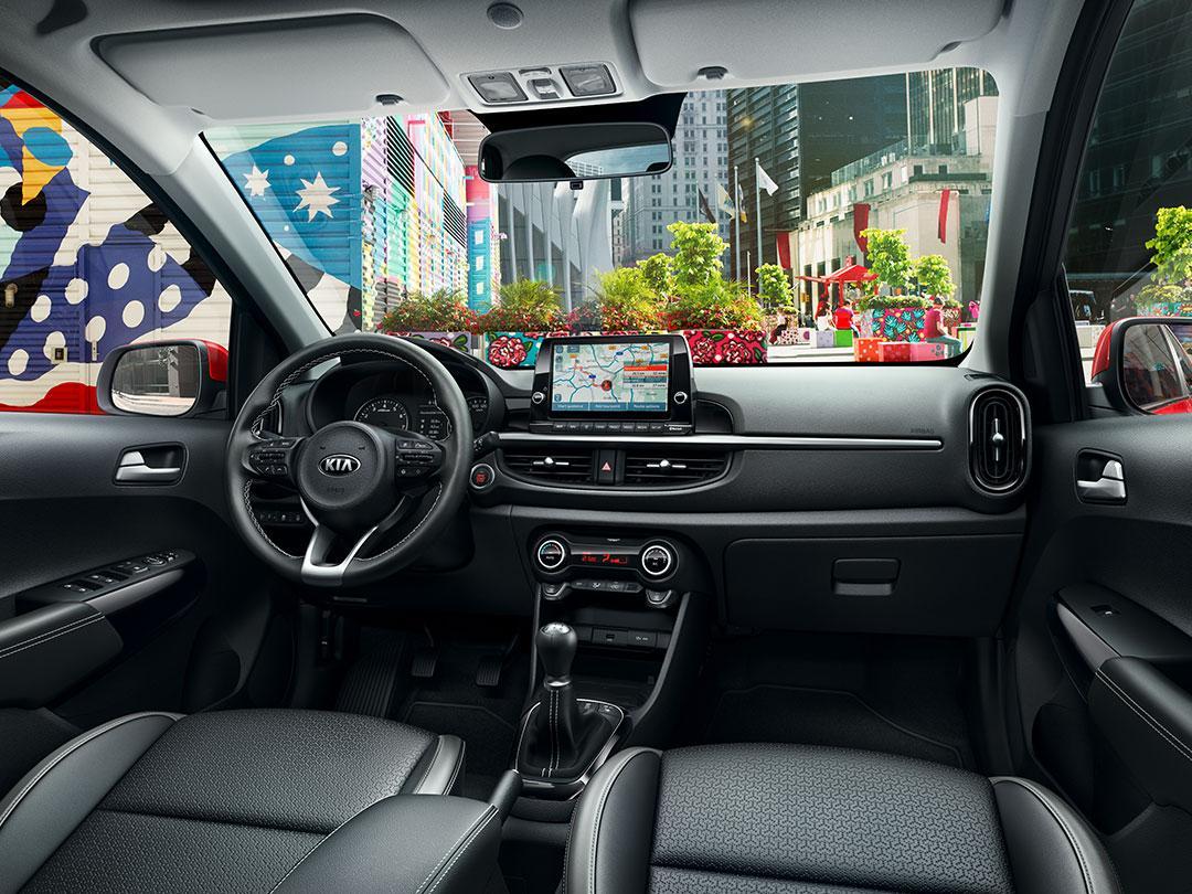 Kia Picanto Facelift 2020 interieur