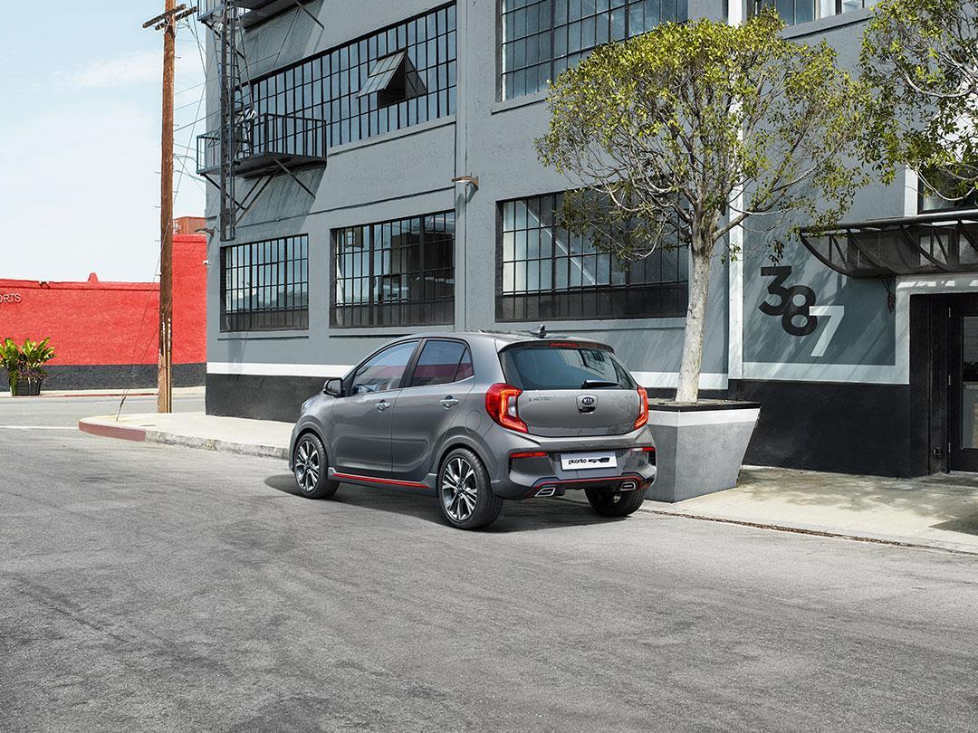 Kia Picanto Facelift 2020 Grijs