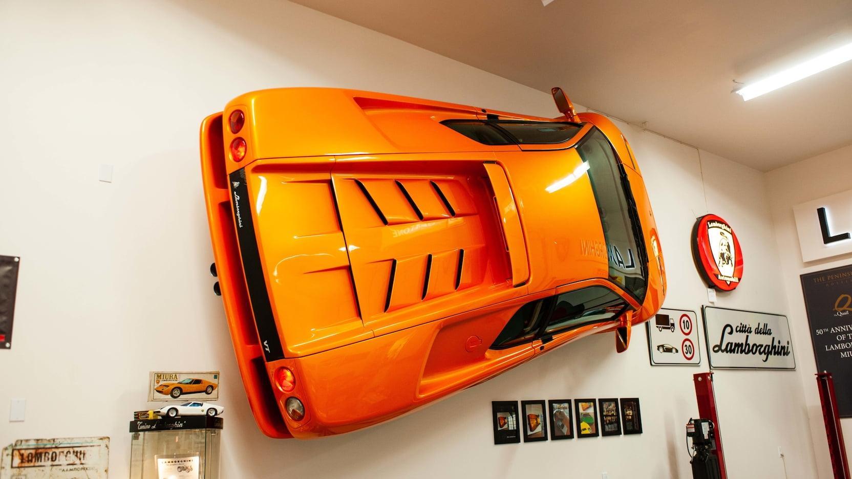 Lamborghini Diablo VT voor aan de muur