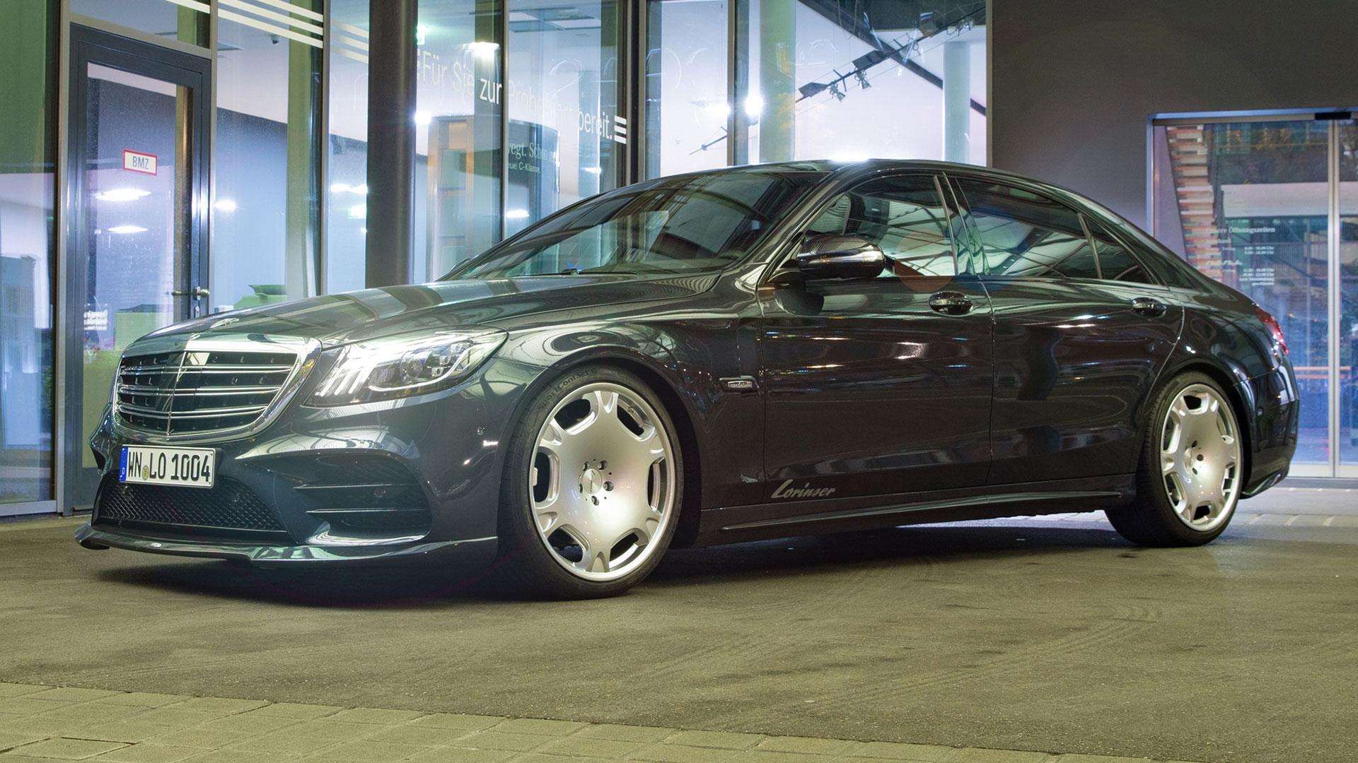 Lorinser-velgen onder Mercedes S-klasse