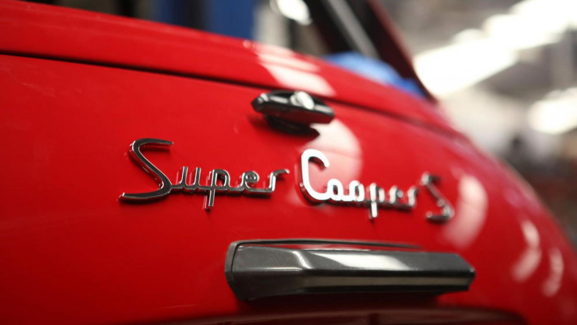 Badge Mini Super Cooper S